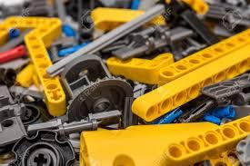 lego technic pieces bucharest romania december 12 2014 lego technic pieces pile