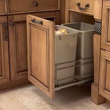 Kitchen Cabinet Trash Can Kitchen Cabinet For Trash Bin