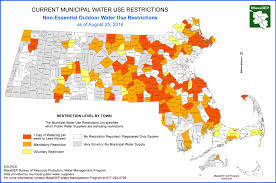 Map Of Boston Massachusetts by Map Amid Bad Drought These Mass Towns Have Imposed Water