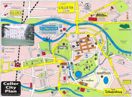 Kassel Germany Map by Guide To Bach Tour Celle Maps