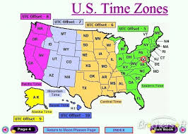 us map time zones with states map us time zones map of usa states