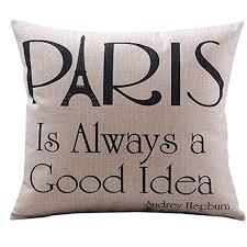 amazon com create for life cotton linen decorative pillowcase