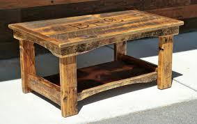 Rustic Coffee Table Ideas Rustic Wood Furniture Planinar Info