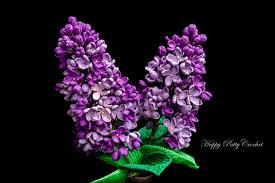 lilac flowers crochet lilac flower pattern by happy patty crochet
