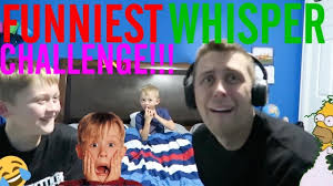 Challenge Romanatwood Funniest Whisper Challenge Romanatwood Vs Noahatwood
