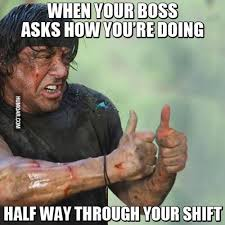 Let The Hate Flow Through You Meme - work when your boss asks you how you are doing nursing humor