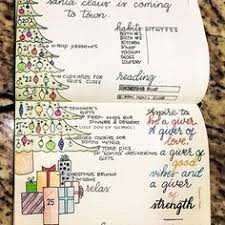 ideas to plan for the holidays in your bullet journal including