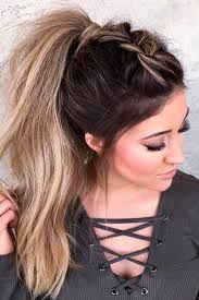 Cute Sporty Hairstyles Best 20 Cute Ponytail Hairstyles Ideas On Pinterest Easy