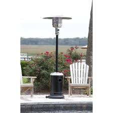 fire sense stainless steel patio heater with adjustable table patio heaters modern blaze