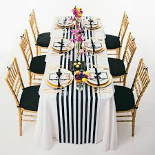 Black And White Striped Chair by Online Get Cheap Black And White Striped Table Runner Aliexpress