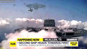 breaking news alien spaceship on earth youtube
