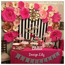 pink and black home decor pink and gold party decorations modern decorations kate spade