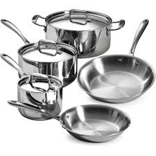 Walmart Nuwave Cooktop Nuwave 7 Piece Cookware Set Silver Walmart Throughout Cookware