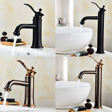 Retro Bathroom Taps Single Lever Gold Bathroom Taps Ebay