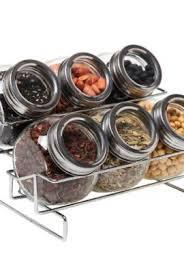 18 Jar Spice Rack Kamenstein Criss Cross Bamboo 18 Jar Spice Rack With Free Spice