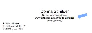 Profile In Resume Image Gallery Linkedin Address On Resume