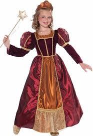 enchanted princess girls costume medieval princess kids costume