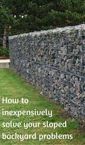 Sloping Backyard Ideas How To Inexpensively Solve Your Sloped Backyard Problems