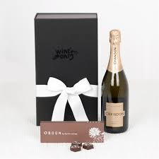 wine gifts chocolate delight with chandon wine gifts wine hers wine