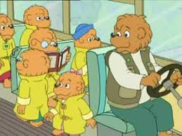 the berenstain bears say and thank you 2 2