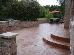 awesome stamped concrete patio patterns patio mommyessence com