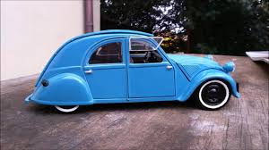 old citroen citroen 2cv type a old 1 18 maisto youtube