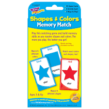 Matching Colors Amazon Com Colors And Shapes Memory Match Toys U0026 Games