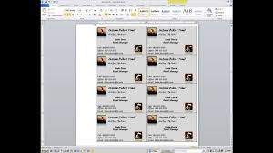 how to create business cards in microsoft word 2007 best