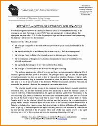 Revoke Power Of Attorney California by 11 Wisconsin Power Of Attorney Forms Action Plan Template