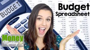 Create Budget Spreadsheet by How To Create A Monthly Budget Spreadsheet Budgeting 101 Pt 2