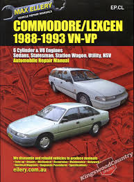 holden commodore lexcen vn vp workshop repair manual u2022 aud 48 90