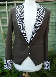 Seeking Jacket Upcycled Gold And Black Desperately Seeking Susan Jacket Uk