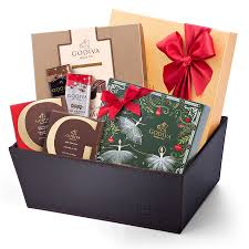 send this tempting godiva chocolate christmas gift to spread