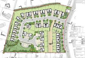 site plans for houses planning application for 41 houses in gourock inverdunning ltd