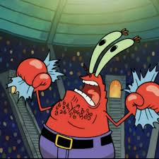 Mr Krabs Meme - mr krabs chest hair rufeelingitnow twitter