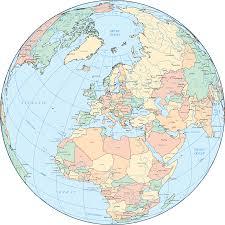 globe maps of the world