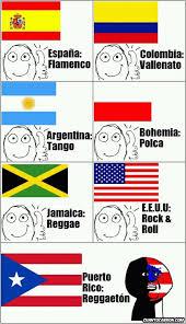 Shewee Meme - la musica de cada pais xd meme by ruglas16 memedroid