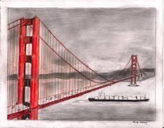 golden gate bridge coloring page golden gate bridge san
