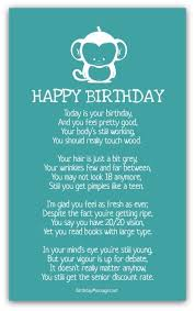 birthday poems funny birthday messages