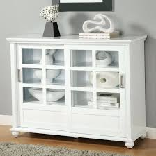 Bookshelf Glass Doors Bookcase White Bookcase Cabinet For Living Room White Wood 4