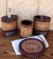 western themed bathroom ideas luxurious western bathroom vanity set horse cabin place on