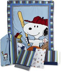 Snoopy Crib Bedding Lambs And Team Snoopy Baby Bedding Baby Bedding And Accessories