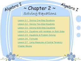 glencoe algebra 2 test 3 5 practice solving two step equations answers tessshlo