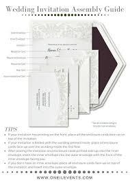 Easy Wedding Programs Impressive Assembling Wedding Invitations Theruntime Com