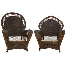 fresh antique wicker furniture set 4331