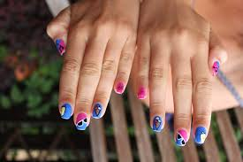 15 nail designs for beach vacation via sassy paints 2012 summer