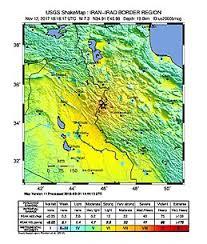 map iran iraq 2017 iran iraq earthquake