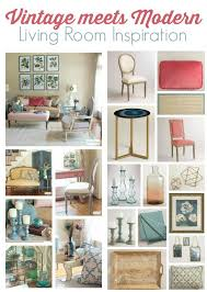 Vintage Decorating Ideas For Home Vintage Meets Modern Living Room Decorating Ideas