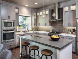 grey kitchen island kitchen island bar stools pictures ideas tips from hgtv hgtv