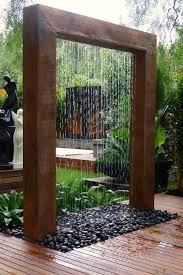 Backyard Feature Wall Ideas In The Backyard This Summer Pipes Arch And Backyard